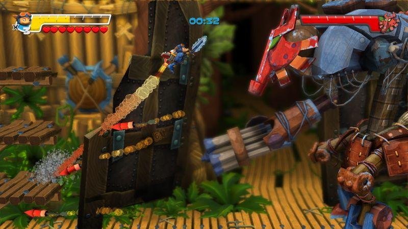 Herní návraty: Rocket Knight 7823