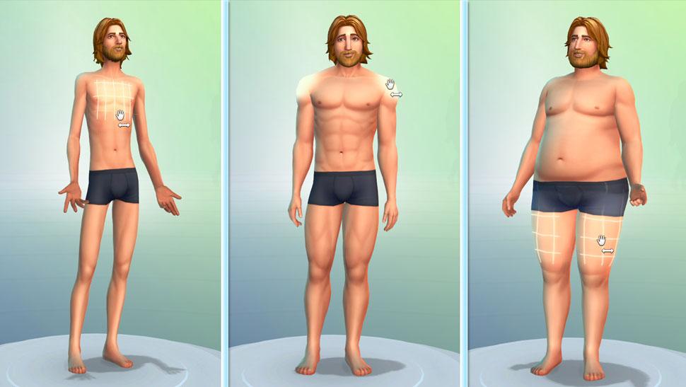 První pohled na The Sims 4: Editor postav 9297