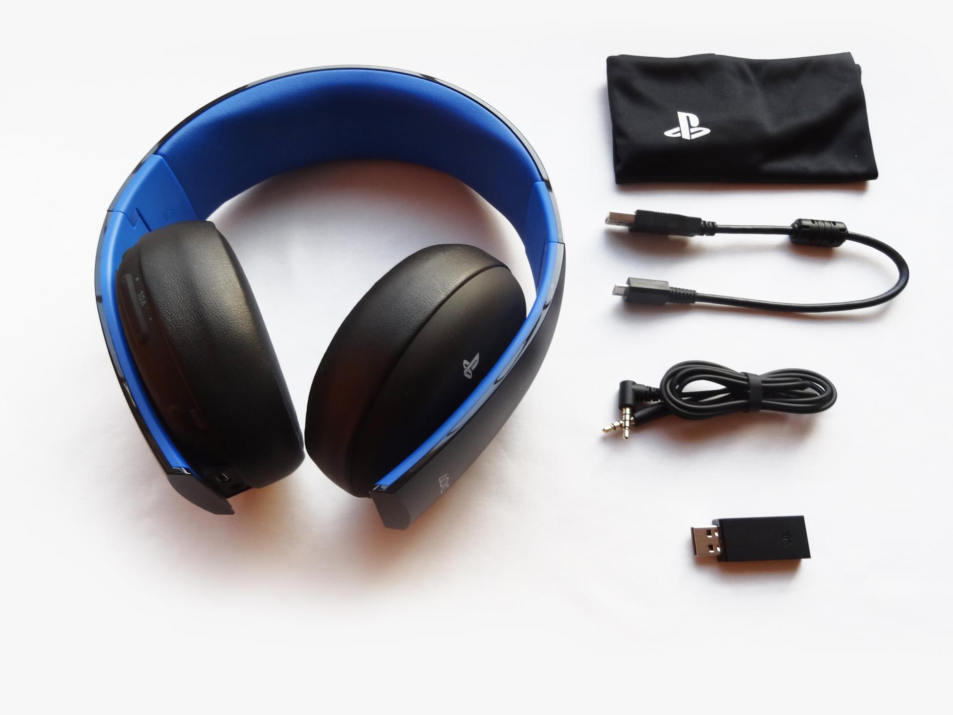 Hardware: Sony Gold Wireless Stereo Headset 9452