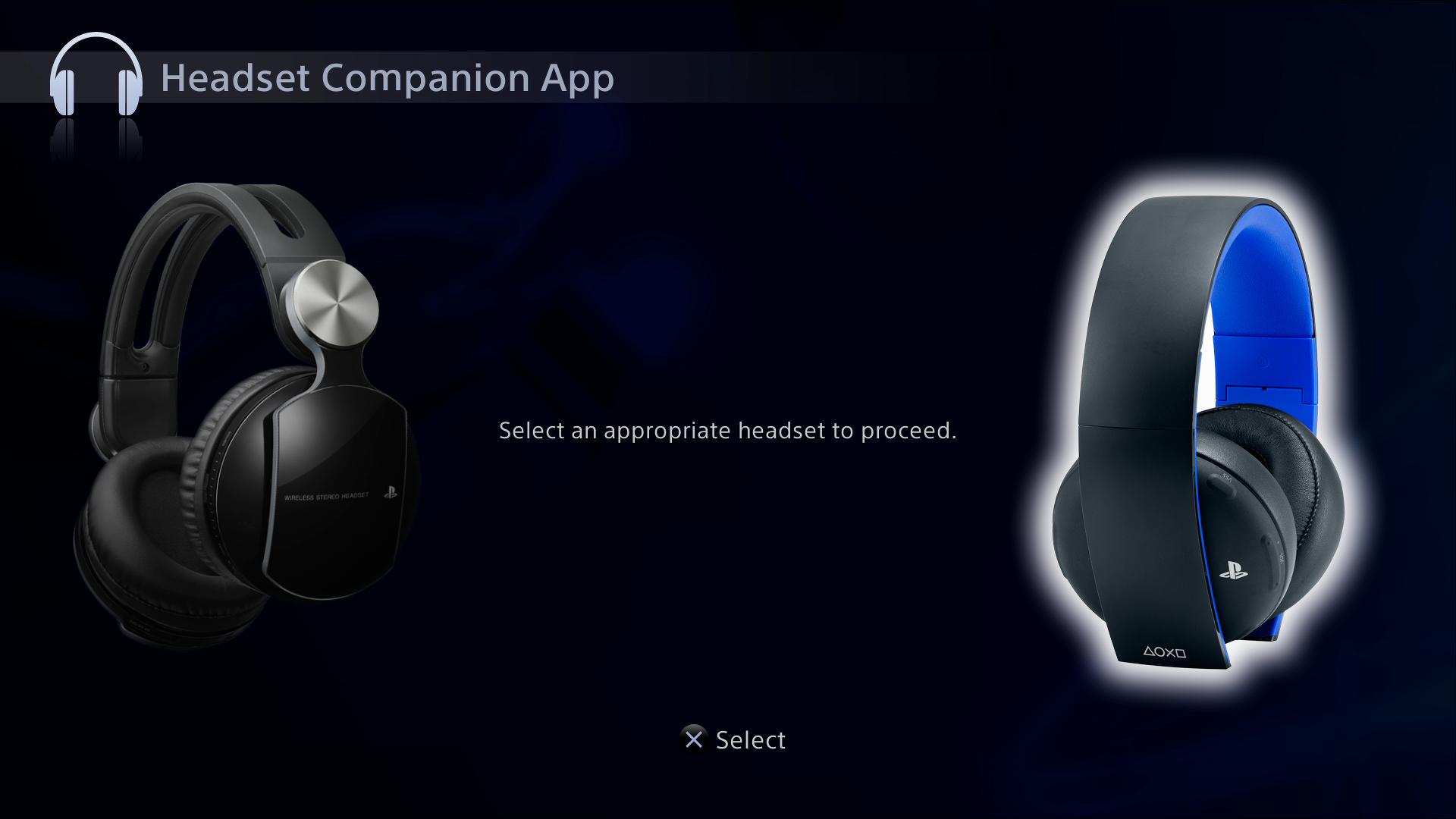 Hardware: Sony Gold Wireless Stereo Headset 9455