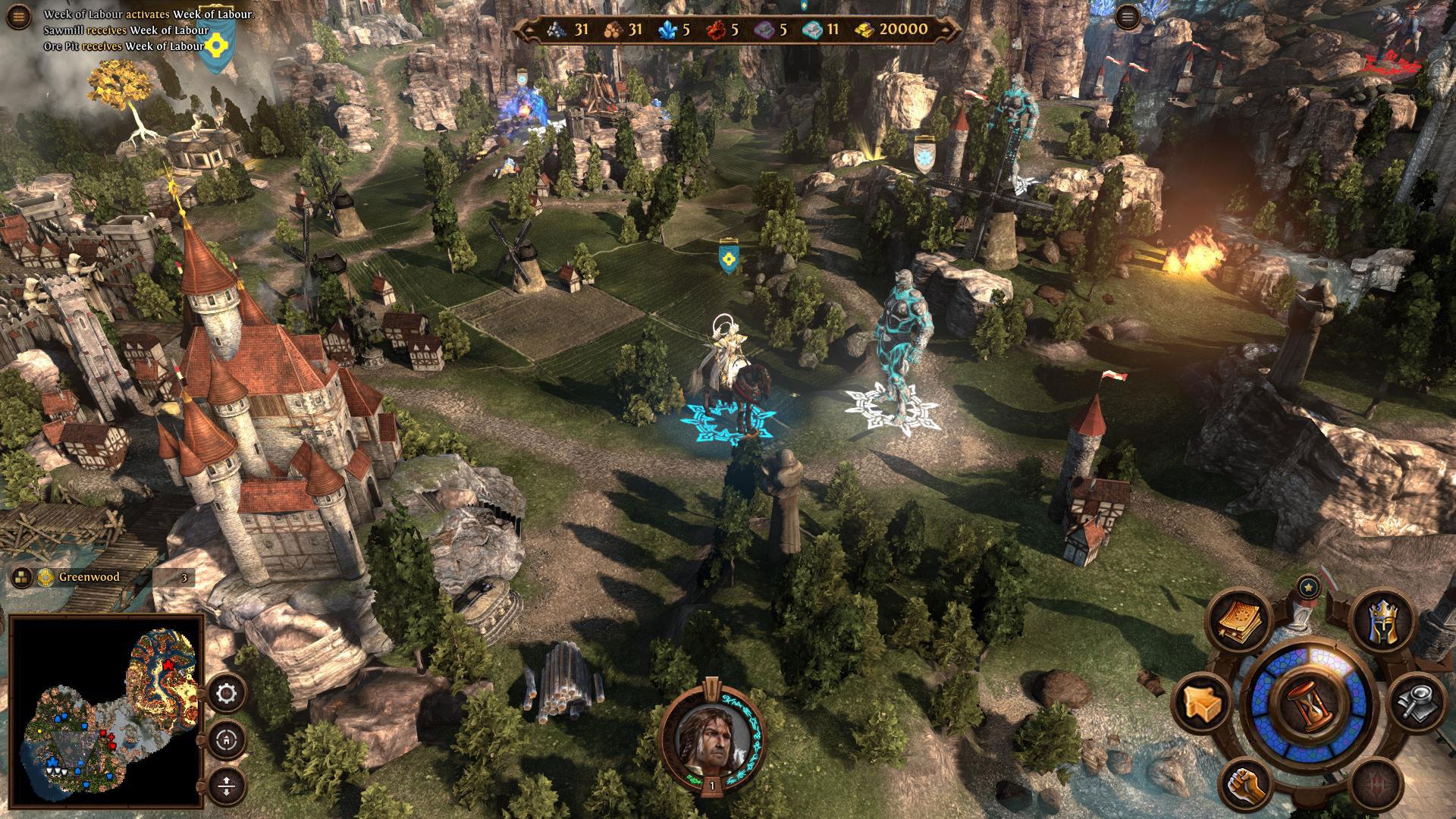 Preview Might and Magic Heroes VII - Návrat do světa Ashan 9489