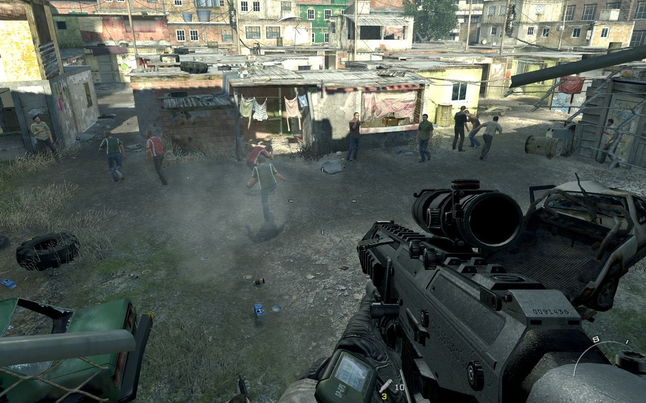 Příběh Modern Warfare 2: Diskuse 994