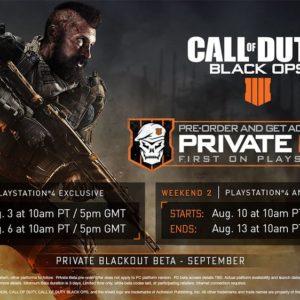 Srpnová beta Call of Duty: Black Ops 4 nabídne spoustu obsahu Call of Duty Black Ops 4 Beta
