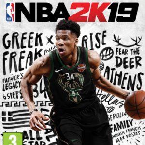 Giannis Antetokounmpo tváří standardní edice NBA 2K19 NBA 2K19 02