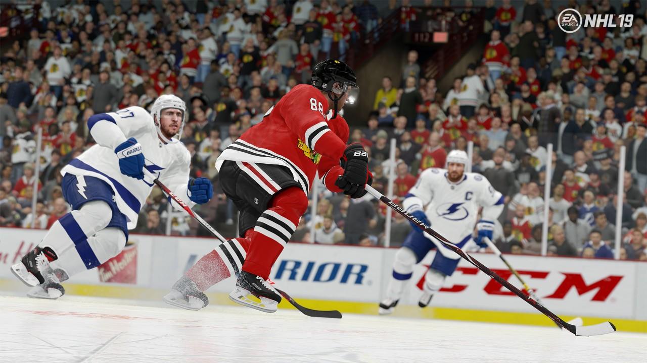Nové video ukazuje v NHL 19 realistické kolize NHL 19 03