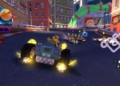 Želvy ninja, SpongeBob, Lumpíci a další v motokárových závodech Nickelodeon Nickelodeon Kart Racers 12