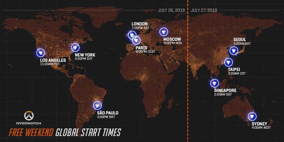 Počínaje čtvrtkem si budete moci na počítačích vyzkoušet Overwatch Overwatch PC free weekend
