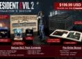 Soška Leona ve sběratelské edici remaku Resident Evil 2 Resident Evil 2 sberatelska edice