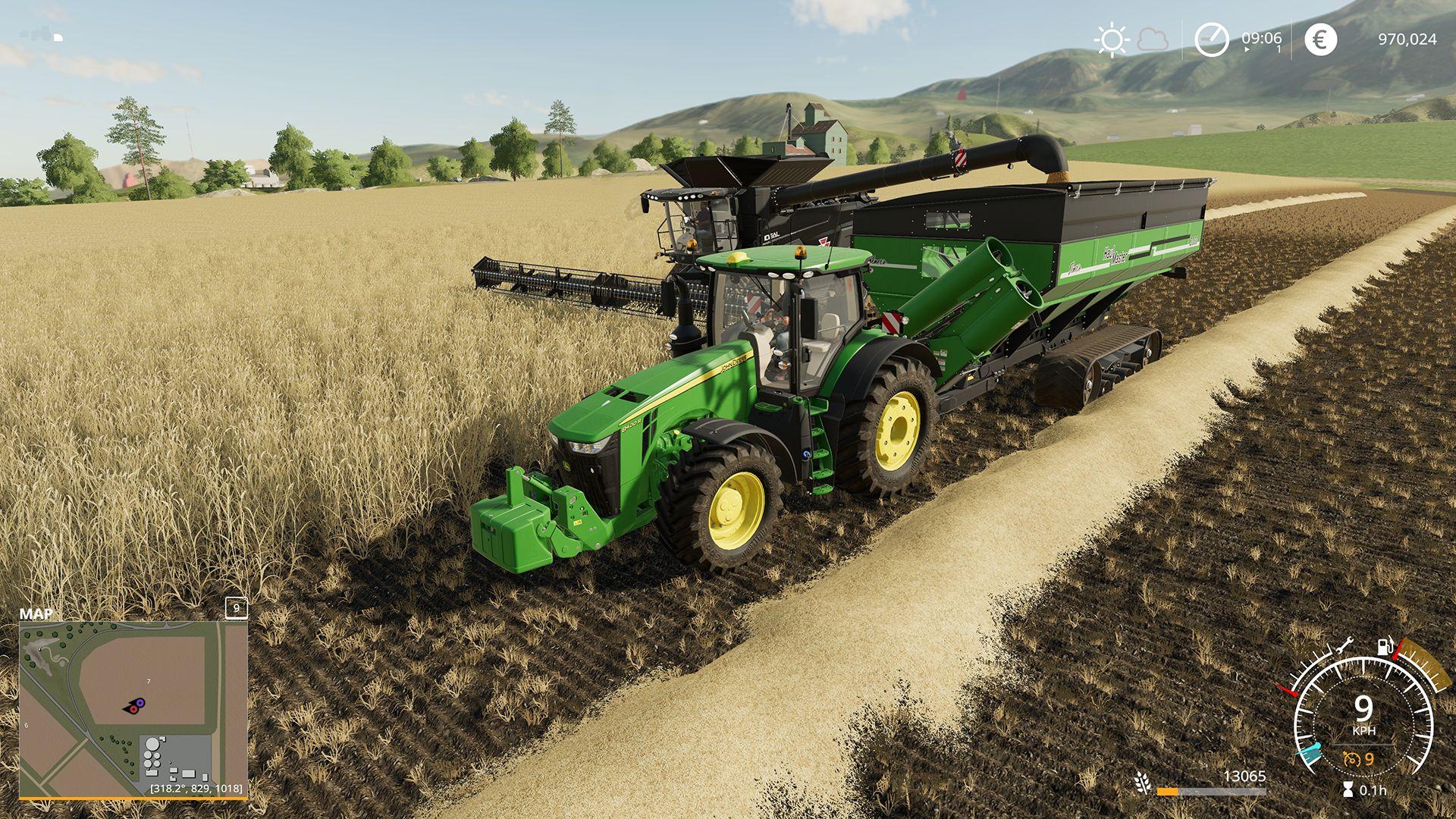 Přepracovaný systém misí ve Farming Simulatoru 19 Farming Simulator 19 02