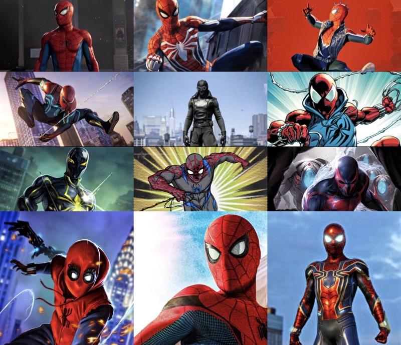 Víme o 12 převlecích Spider-Mana Spider Man obleky