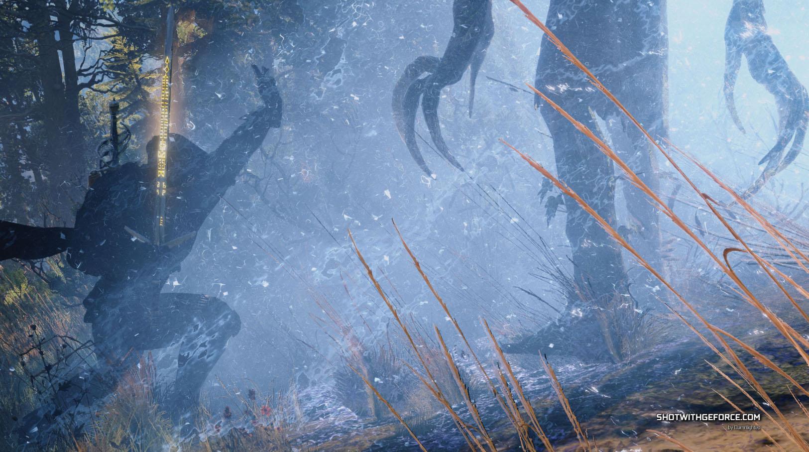 Kdo vyhrál s NVIDIA Ansel herní monitor Acer Predator 4K G-SYNC? Witcher