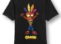 Vytuň si herní doupě #23 - Letní výprodej crash bandicoot tricko aku aku velikost l 0.jpg.big