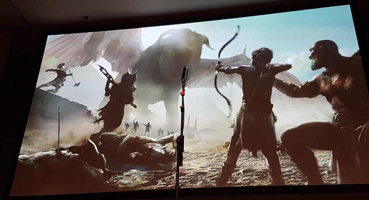 Nechybělo mnoho a God of War by se odehrávalo v Egyptě god of war