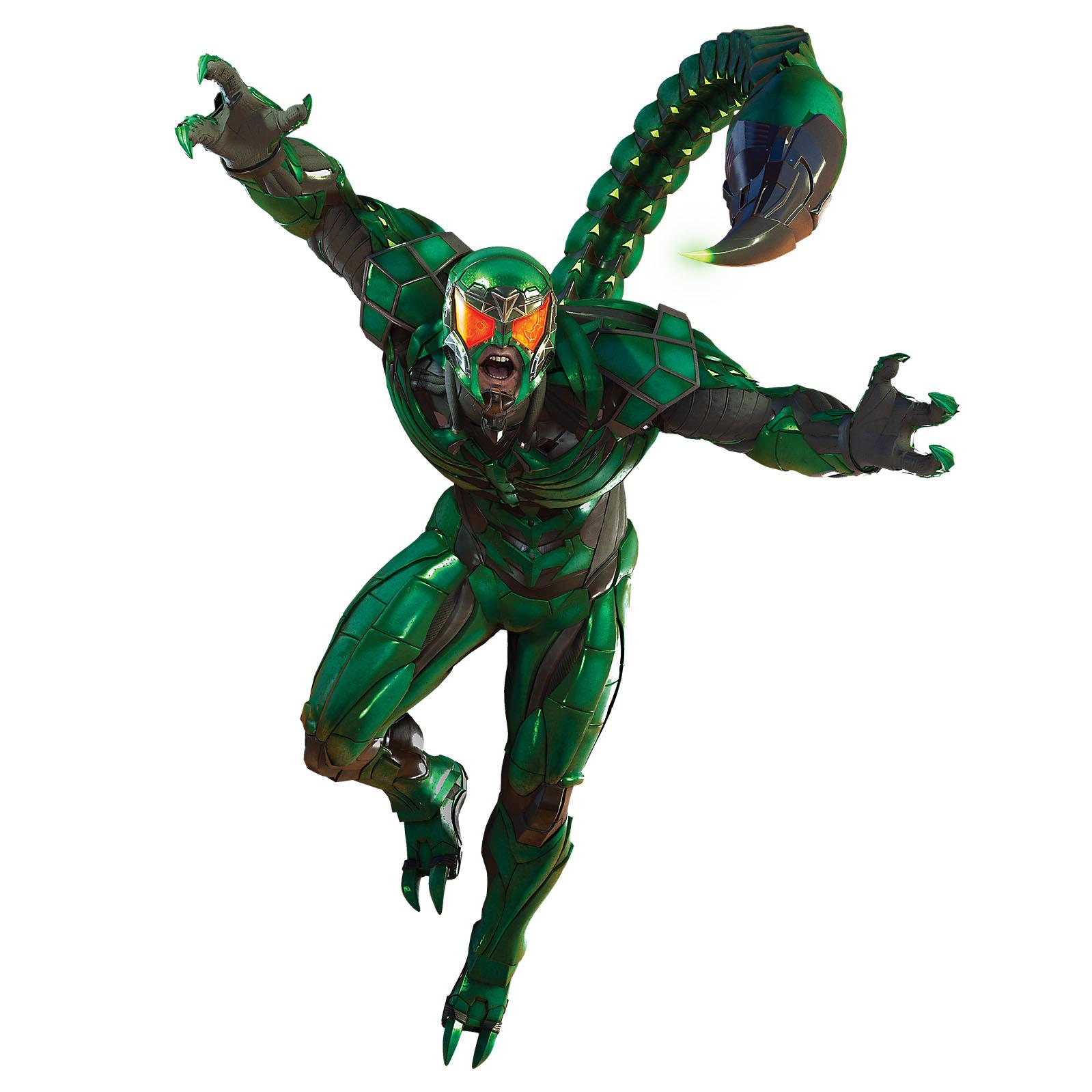 Seznamte se: Zloduši z Marvel's Spider-Man marvels spider man villains scorpion