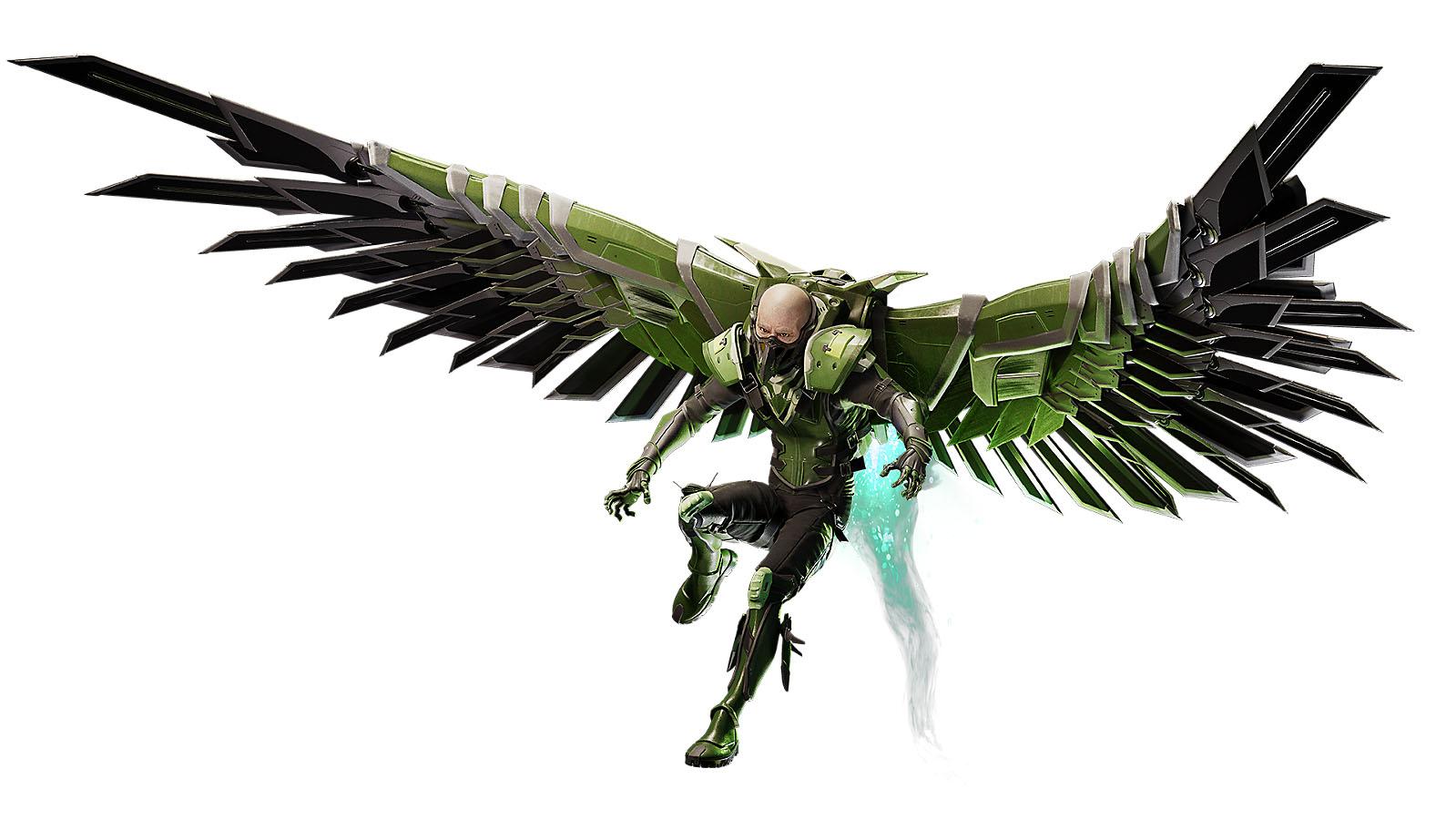 Seznamte se: Zloduši z Marvel's Spider-Man marvels spider man villains vulture