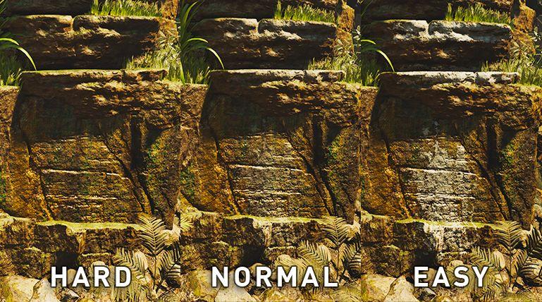 Individuální nastavení obtížnosti pro hádanky nebo boj v Shadow of the Tomb Raider shadow of the tomb raider difficulty 2