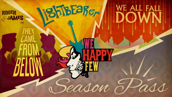 We Happy Few s placenými i bezplatnými přídavky we happy few season pass