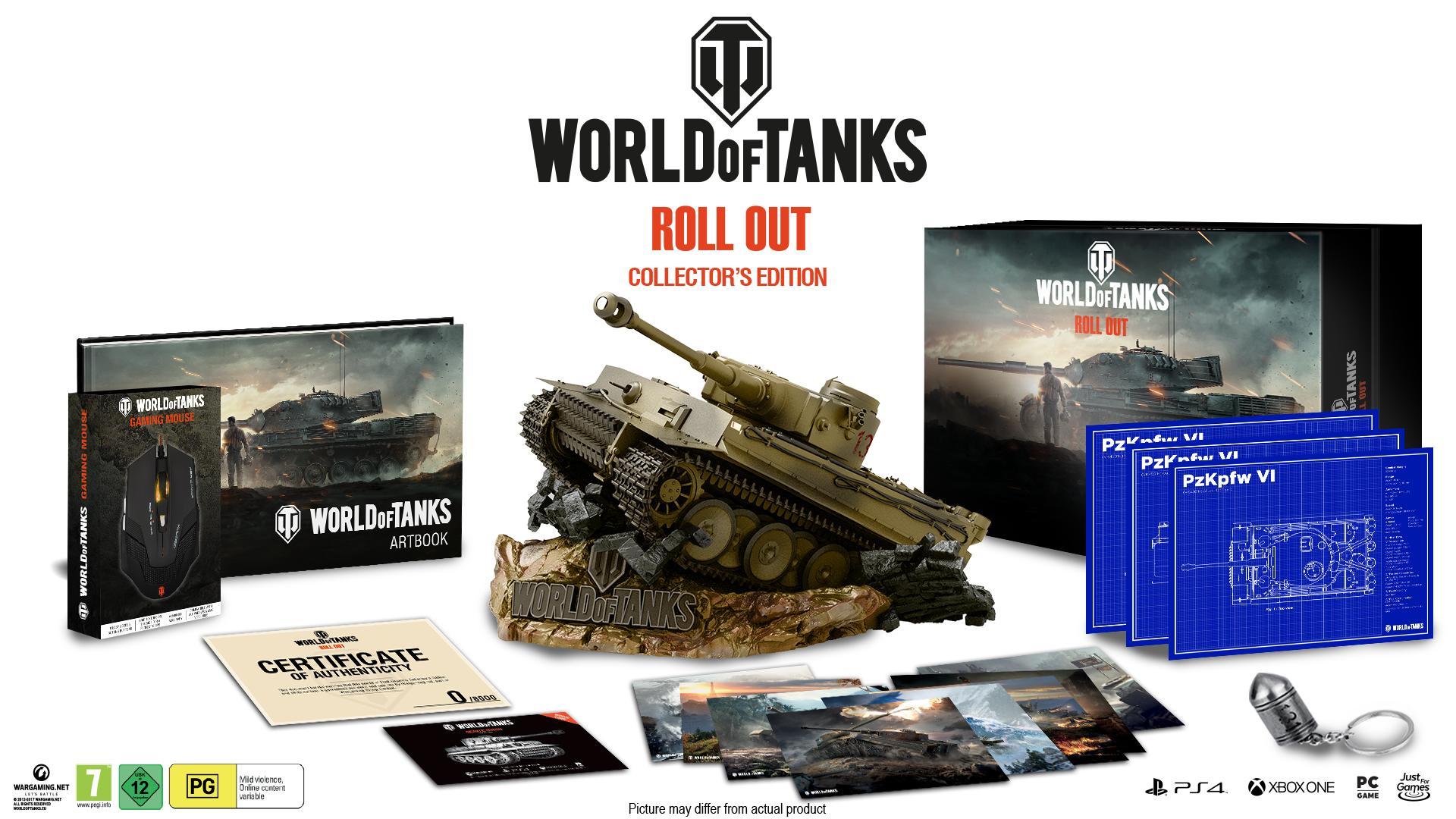 Vytuň si herní doupě #23 - Letní výprodej world of tanks collector s edition beauty shot