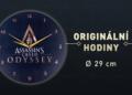 Vytuň si herní doupě #26 - Assassins Creed: Odyssey AC ODYSSEY PRODUKTOVKA HODINY