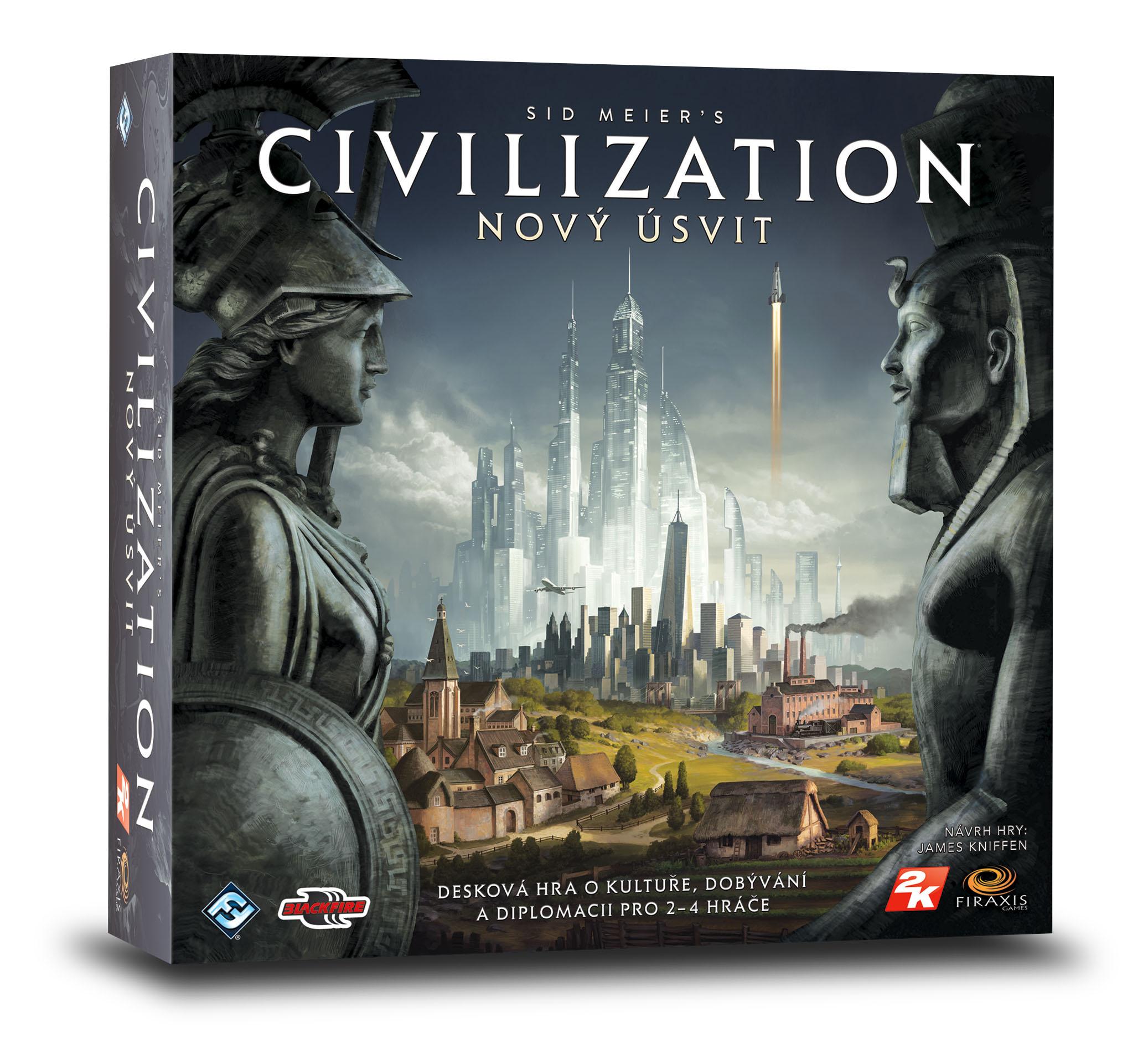Vytuň si herní doupě #25 - deskové a karetní hry Civilizace Novy Usvit vizualizace