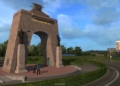 Oregon v American Truck Simulatoru v říjnu a ukázka Saint Petersburgu Petrohrad Euro Truck Simulator 2 02