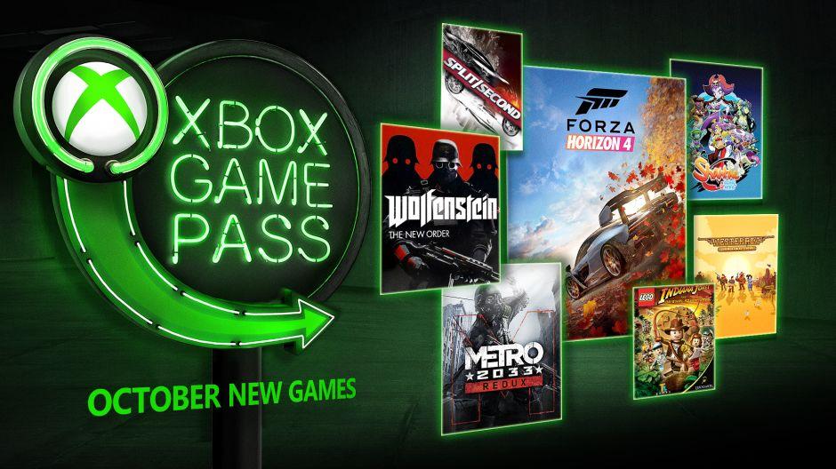 Říjnové novinky pro Gold a Xbox Game Pass Xbox Game Pass