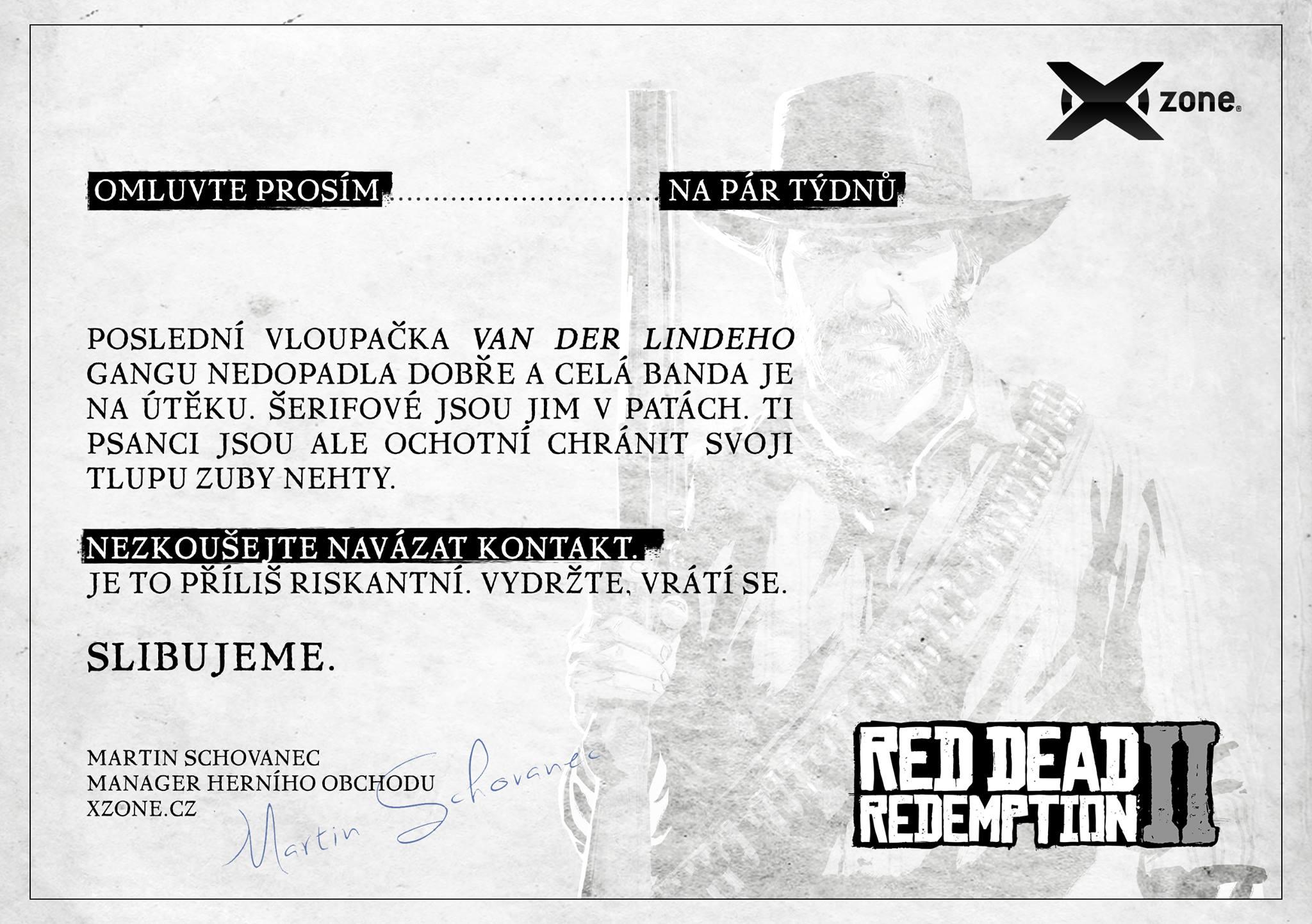 Půlnoční prodej Red Dead Redemption 2 se soutěží o hru zdarma 44370882 10160740539780276 7225096901337546752 o