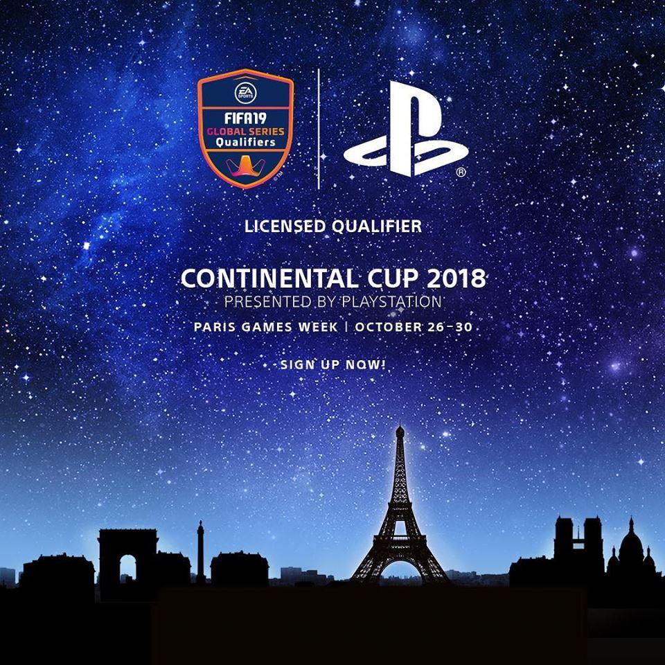 Česká a Slovenská republika hledá nejlepšího hráče FIFA 19 Continental Cup