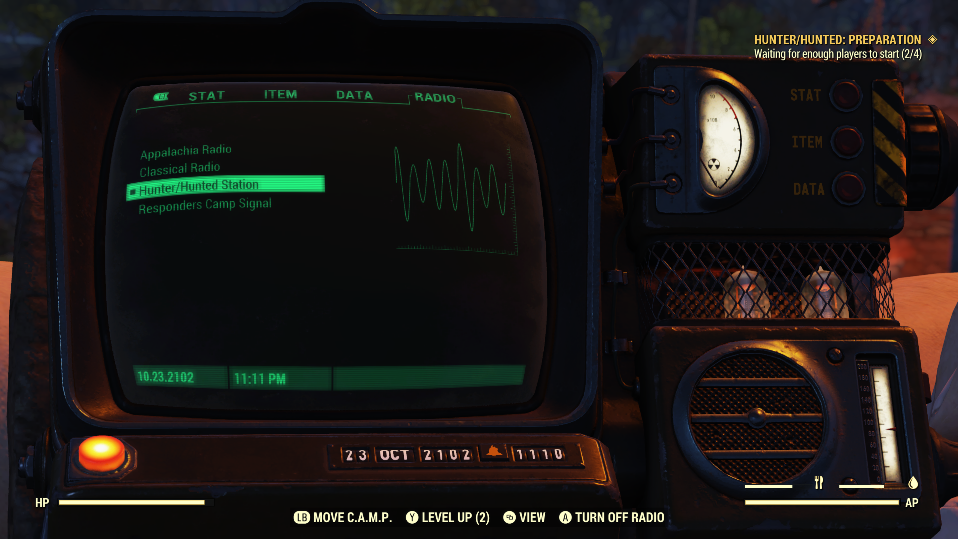 Takhle bude fungovat PvP ve Fallout 76 Fallout76. HunterHunted