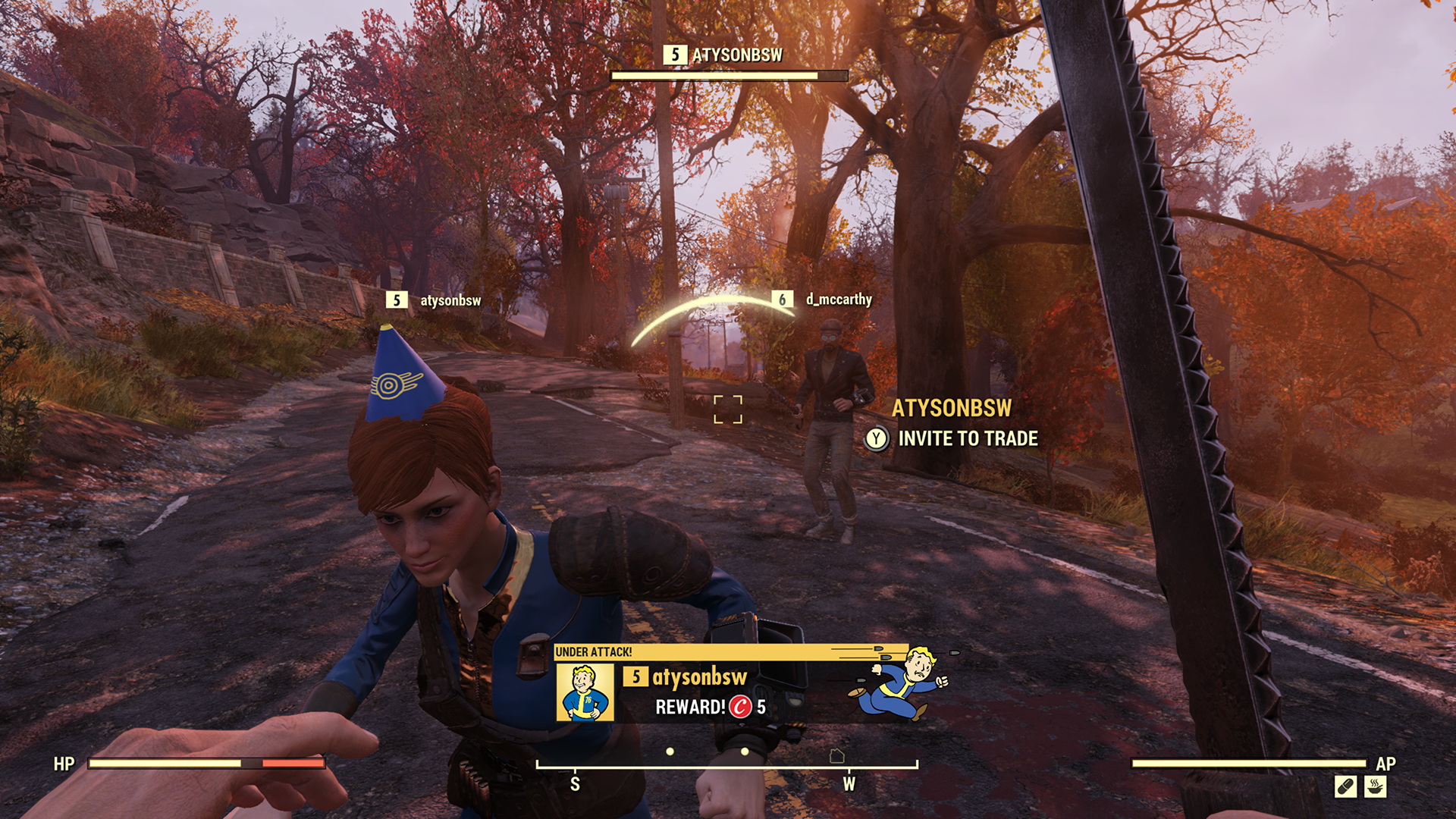 Takhle bude fungovat PvP ve Fallout 76 Fallout76 Attack 2