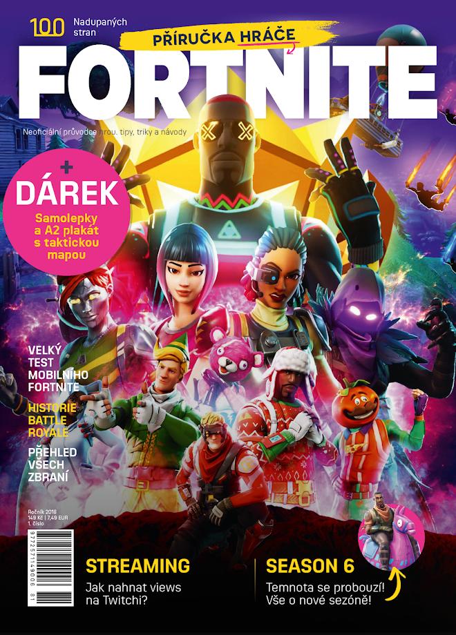 Fortnite Battle Royale má vlastní český časopis Fortnite casopis 01