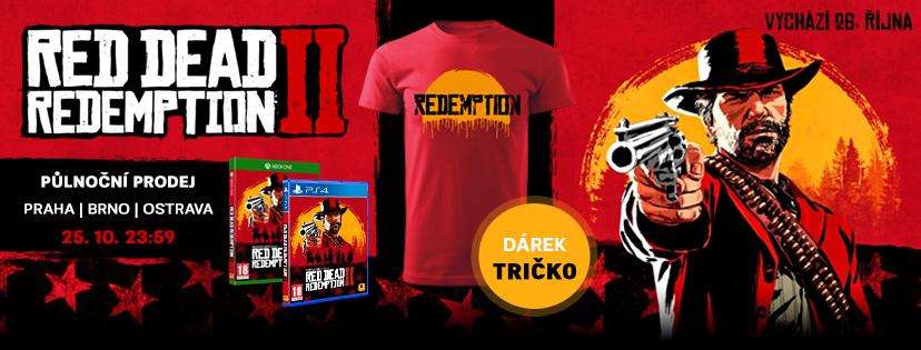 Půlnoční prodej Red Dead Redemption 2 se soutěží o hru zdarma RDR2 FB COVER