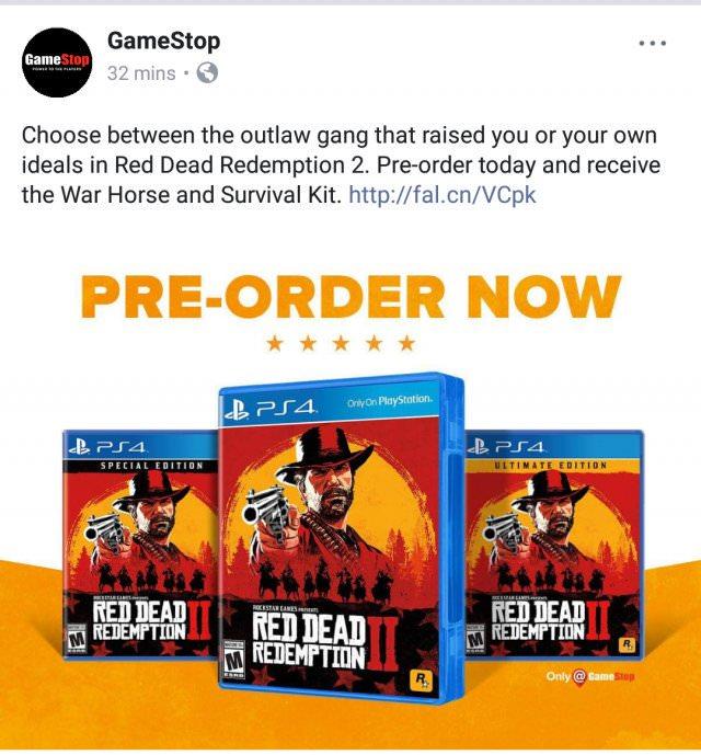 Dnes odpoledne druhá ukázka z Red Dead Redemption 2 red dead redemption 2 1 2