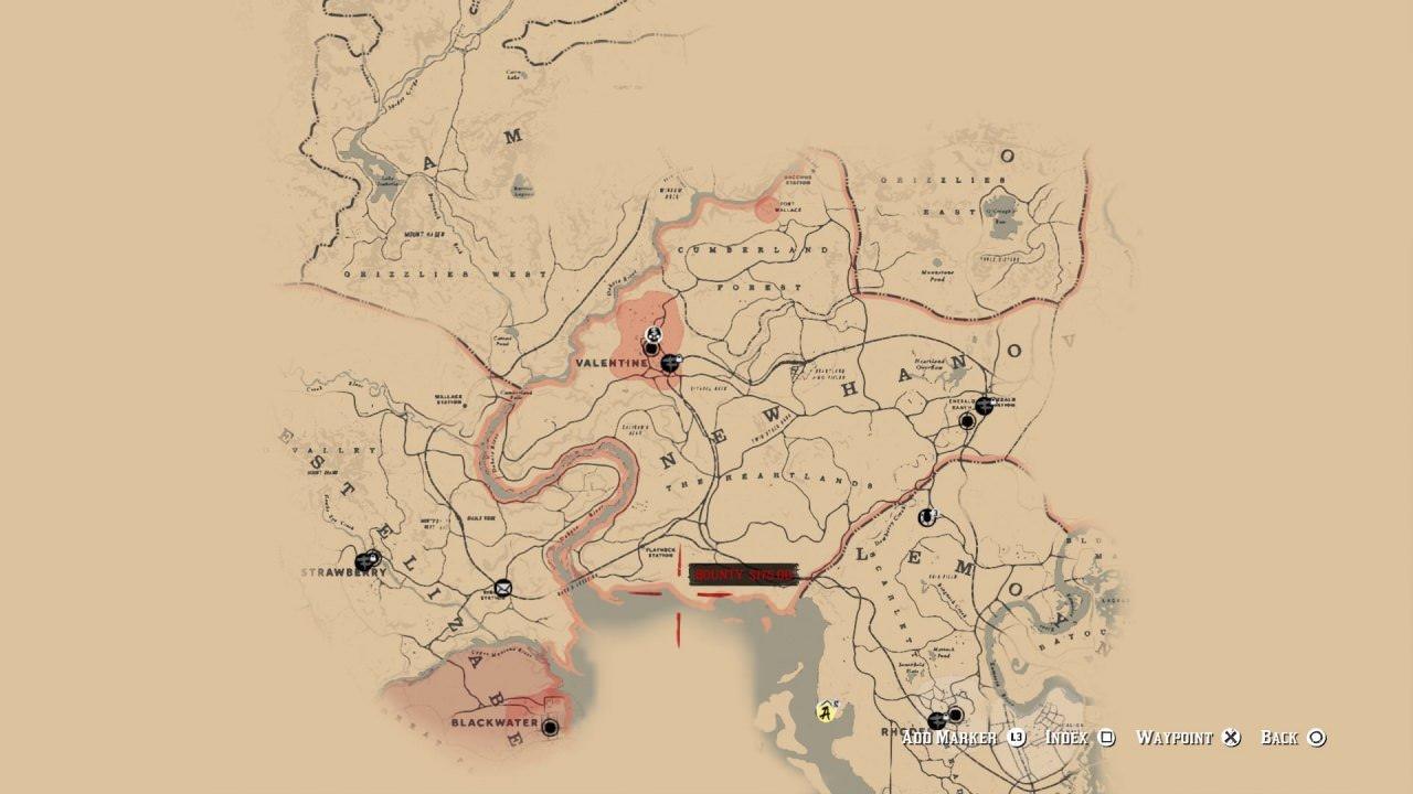 Mapa Red Dead Redemption 2, gameplay záběry a další zvěsti o PC verzi red dead redemption 2 mapa