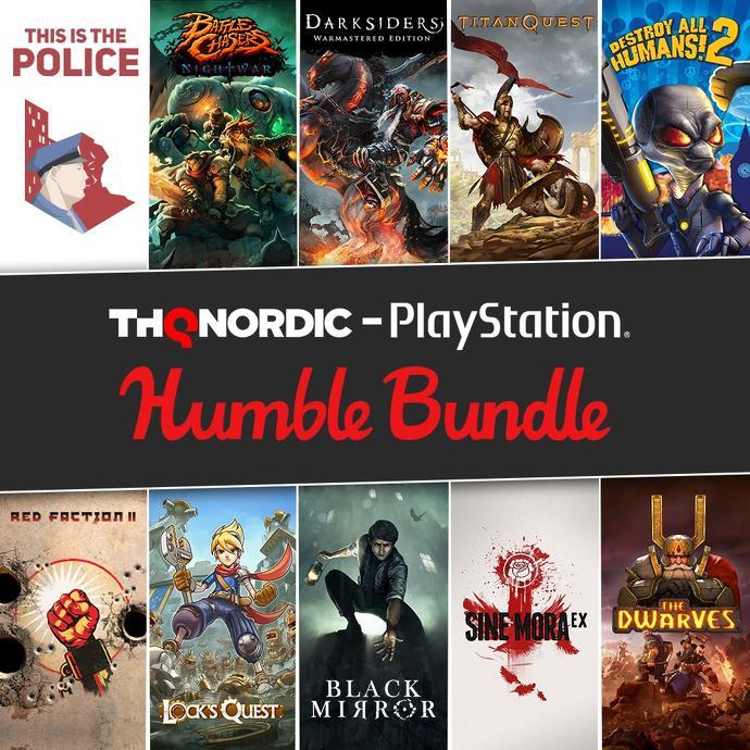 Druhý Humble THQ Nordic PlayStation bundle i pro nás PS Bundle 2 THQ Nordic