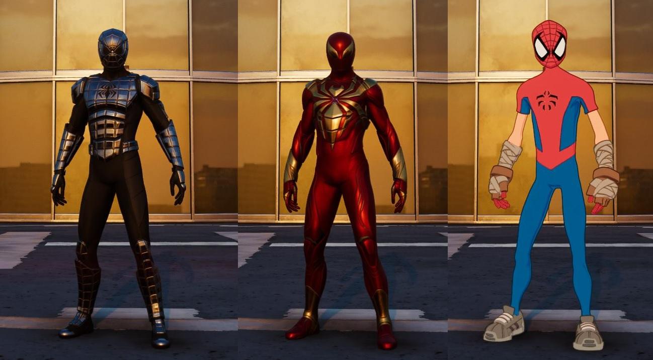 Marvel's Spider-Man – Město, které nikdy nespí: Válka gangů Spider Man PS4 Valka Gangu Obleky