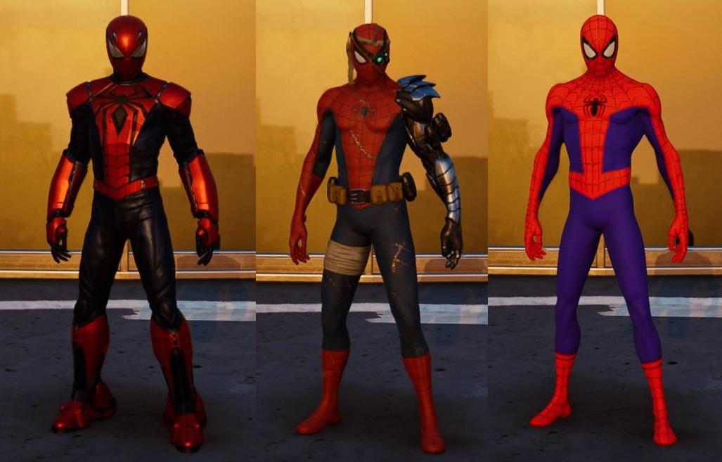 Marvel's Spider-Man – Město, které nikdy nespí: Operace Silver Spider Man Silver Sable obleky