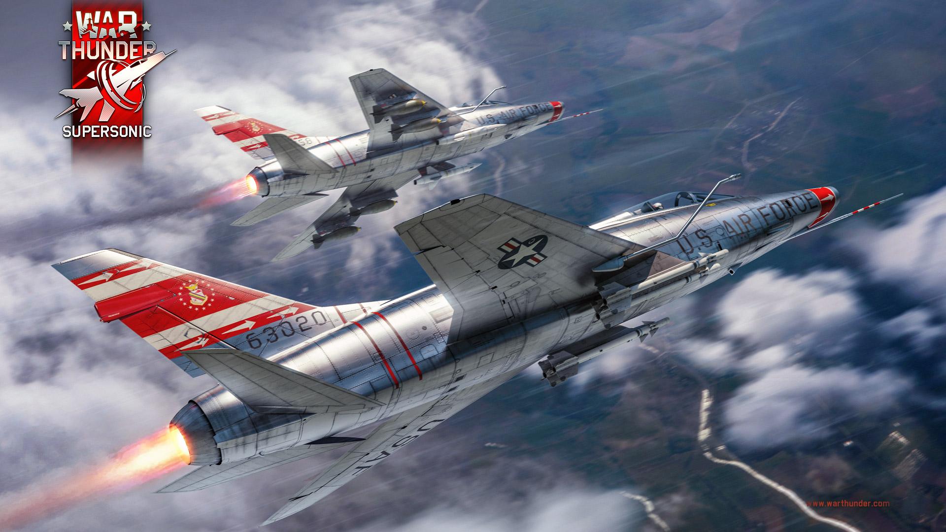 War Thunder dostává největší letošní aktualizaci WarThunder 1 85 Supersonic F100D