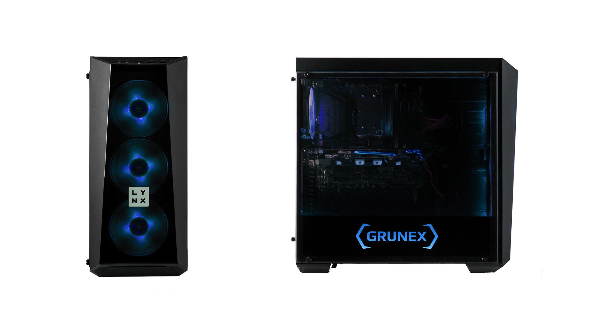 Řada hotových počítačů LYNX Grunex vykračuje do nového roku v novém ilustrace 3 lynx grunex progamer 2019