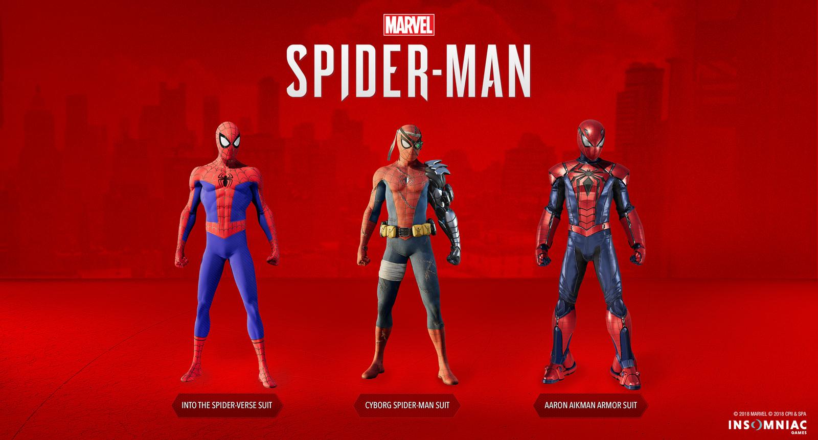 Třetí DLC pro Spider-Mana ještě před Vánoci silver spider man kostymy
