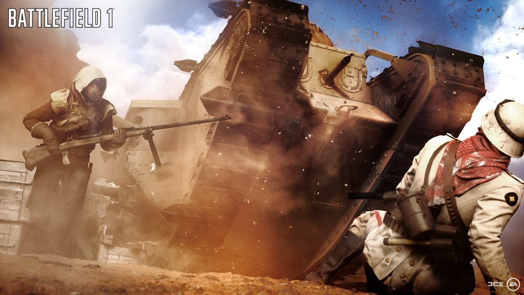Rok 2018: Games With Gold vs. PlayStation Plus Battlefield 1