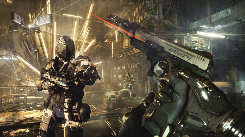 Rok 2018: Games With Gold vs. PlayStation Plus Deus Ex Mankind Divided