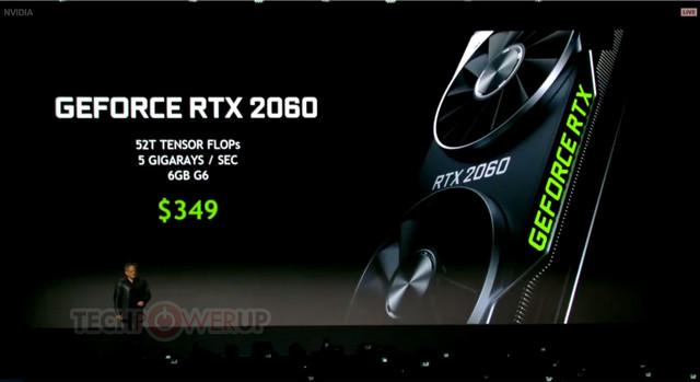 Nvidia představila GeForce RTX 2060 GeForce RTX 2060 CES