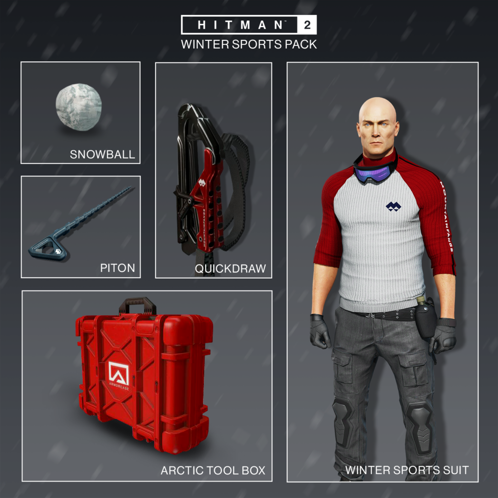 Hitman 2 oslavuje zimu další časově omezenou misí Hitman2 WinterPack