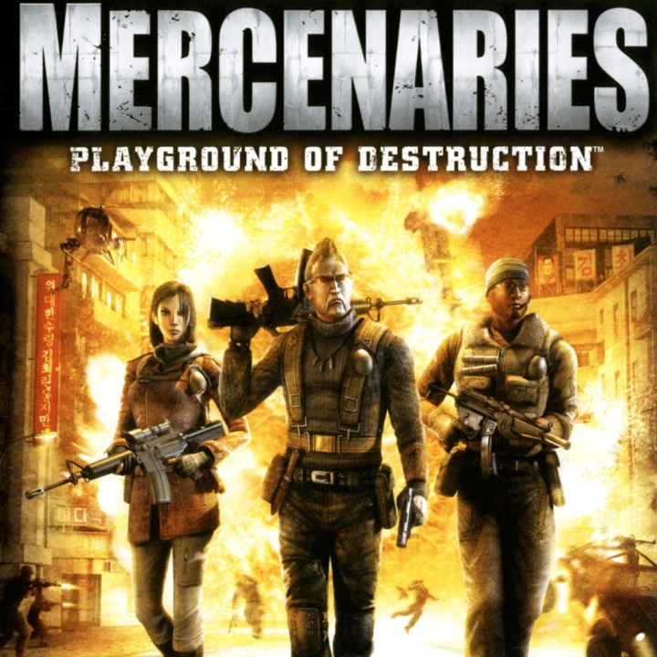 Rok 2018: Games With Gold vs. PlayStation Plus Mercenaries Playground of Destruction