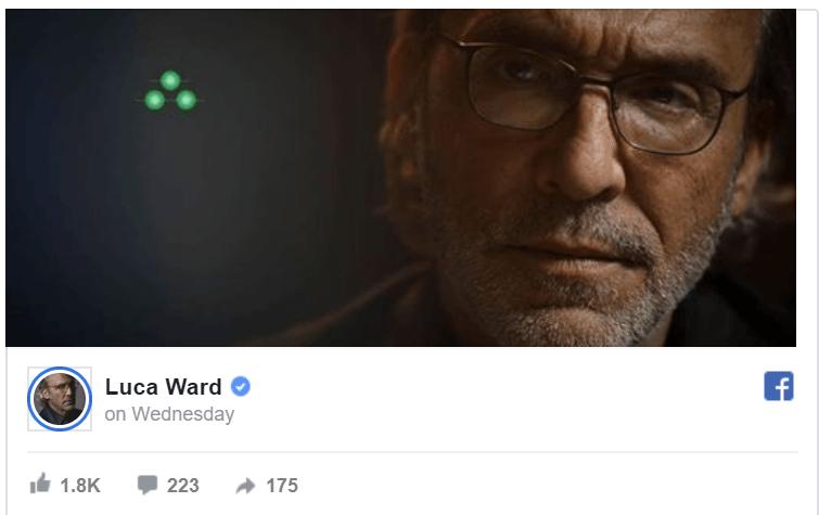 Luca Ward naznačuje nového Splinter Cella Splinter Cell