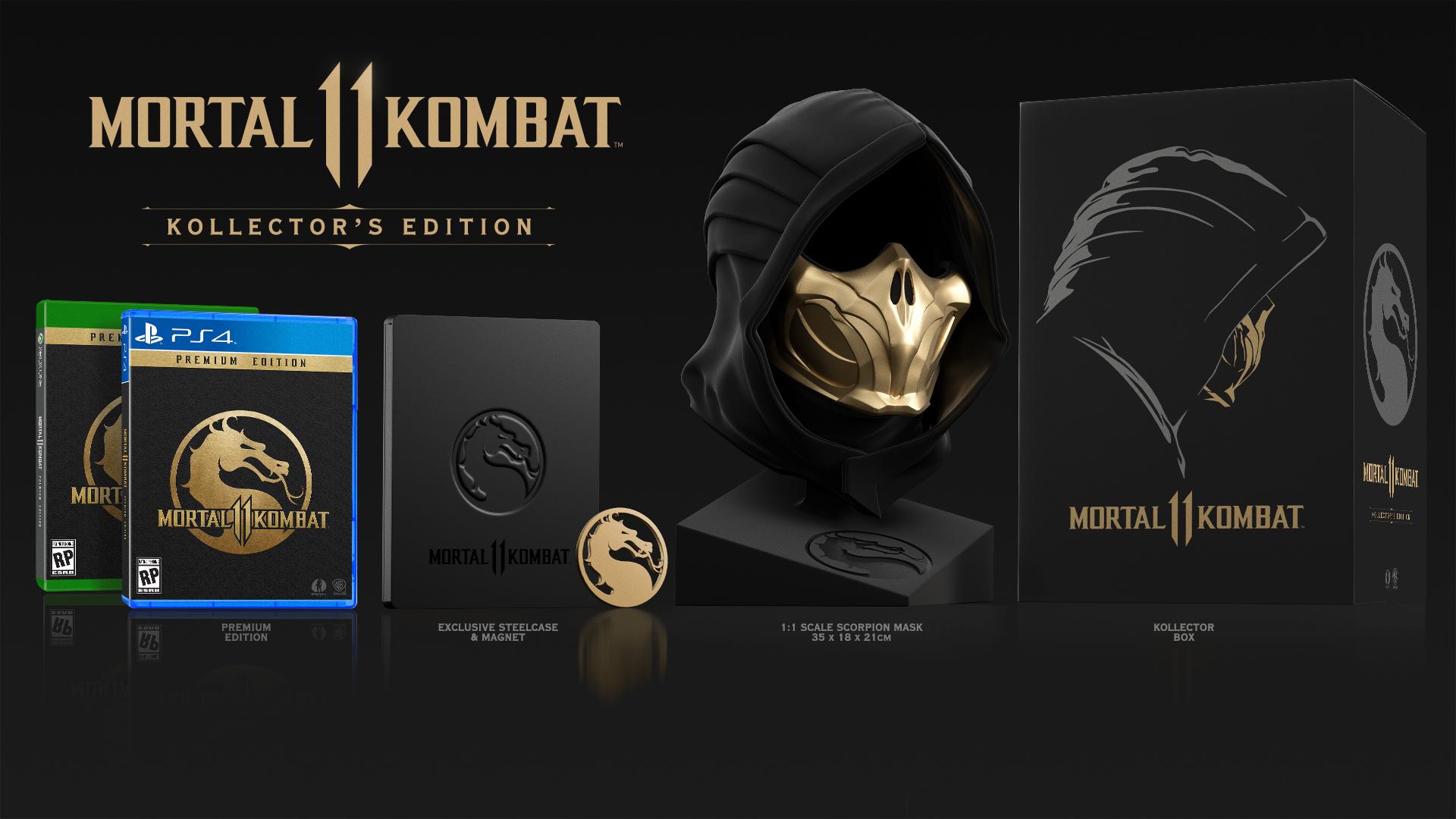 Mortal Kombat 11 ukázal brutální záběry, novinky a sběratelskou edici mortal kombat kollectors edition