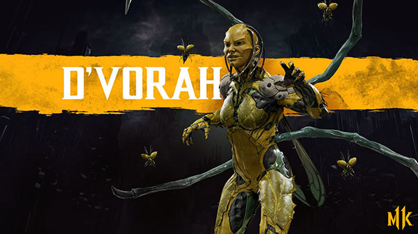 D'Vorah a Kabal rozšiřují soupisku Mortal Kombatu 11 MK11 DVorah