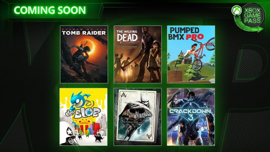 Jednohubky k snídani - pátek, 8. února Xbox Game Pass unor