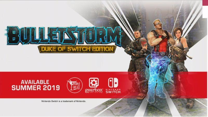 Začátkem léta vyjde Bulletstorm: Duke of Switch Edition Bulletstorm